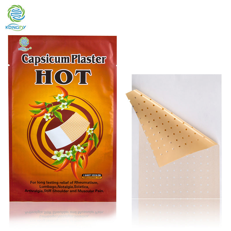 Herbal Capsicum Analgesic Pain Relief Patch For Arthritic/Back Pain