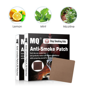 100% Natural Nicotine Quit Smoking Patches