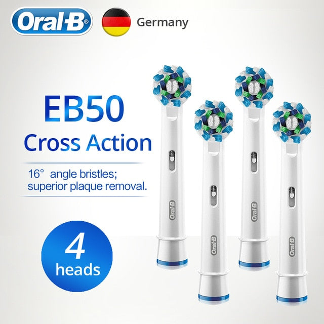Oral-B Replaceable Electric Toothbrush Heads