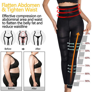 Anti Cellulite Compression Leg Body Shaper Slimming Pant
