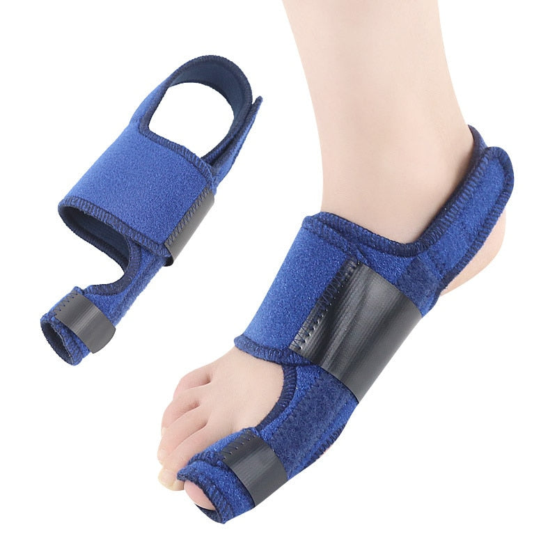 Bunion Corrector Velcro Toe Strap Hallux Valgus Big Foot Bone Toe Splitter