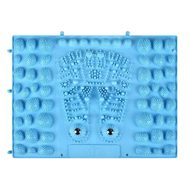 Foot Massage Magnetite Therapy Anti-Slip Acupressure Mat