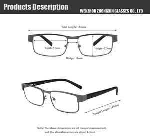 High Quality Retro Blue Light Blocking Reading Glasses
