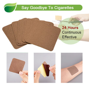 20pcs 100% Natural Ingredient Anti Smoke Patch Stop Quit Smoking Cessation