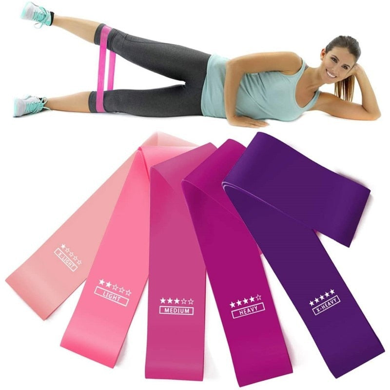 Elastic Exercise Gym Strength Training Resistance Bands For Fitness