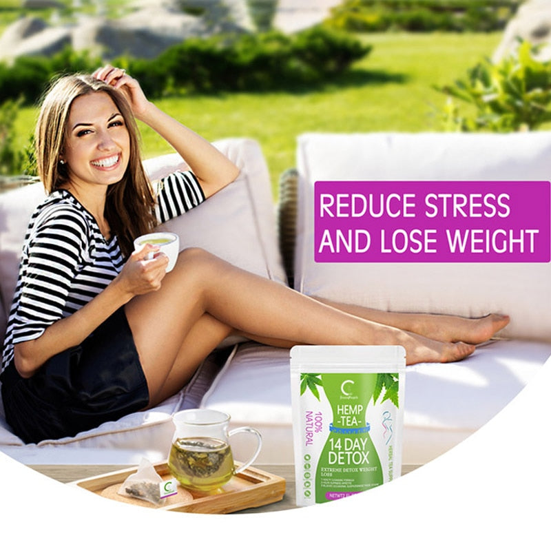 28 Days Weight Loss Slimming Tea