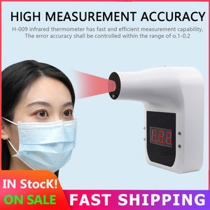 Hands-free LCD Screen Display Digital Smart Non-Contact Human Body Infrared Thermometer
