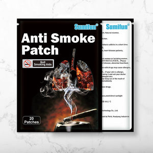 100% Natural Ingredient Anti Smoke Patch Stop Quit Smoking