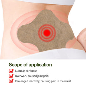 12pcs Lumbar Medical Plaster Wormwood Pain Relief Patch
