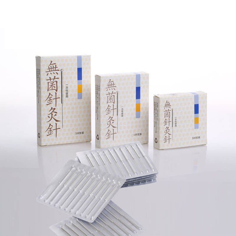 100Pcs Disposable Stainless Steel Medical Acupuncture Needles