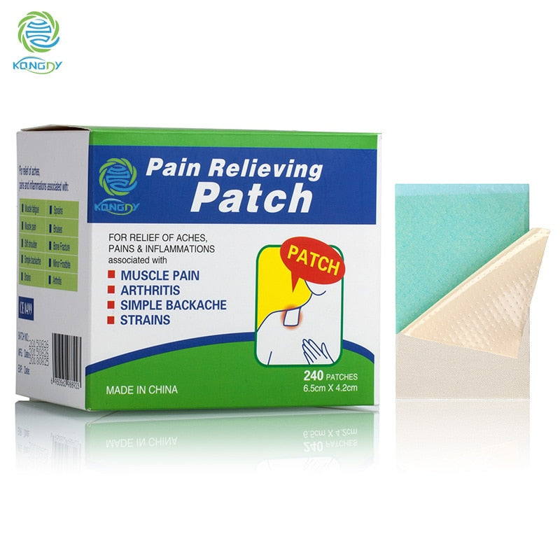 Health Care Pain Killer 240 Pieces/Box Menthol Pain Relief Patch