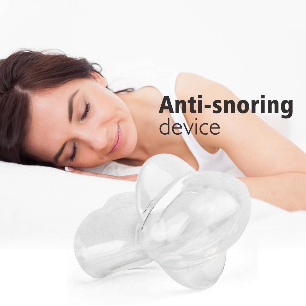 Silicone Snore Solution Aid Sleeve Sleep Breathing Night Guard Device