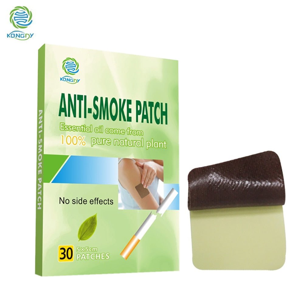 100% Natural Ingredient 30 Pcs/Box Smoking Cessation Anti Smoke Patch