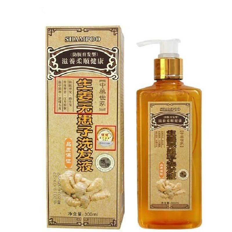 300ml Nourishing Natural Professional Ginger Anti Hair Loss Shampoo