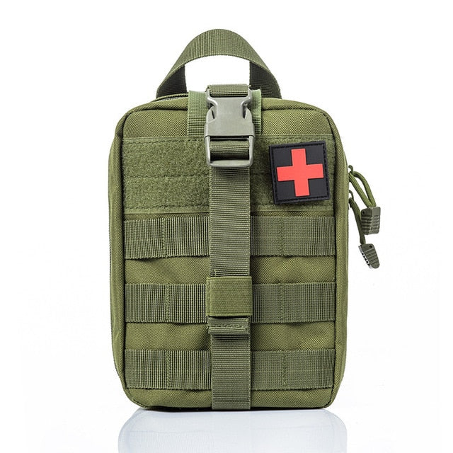 High Quality Tactical Medical Wild Survival Emergency Kit Bag for Outdoor Camping