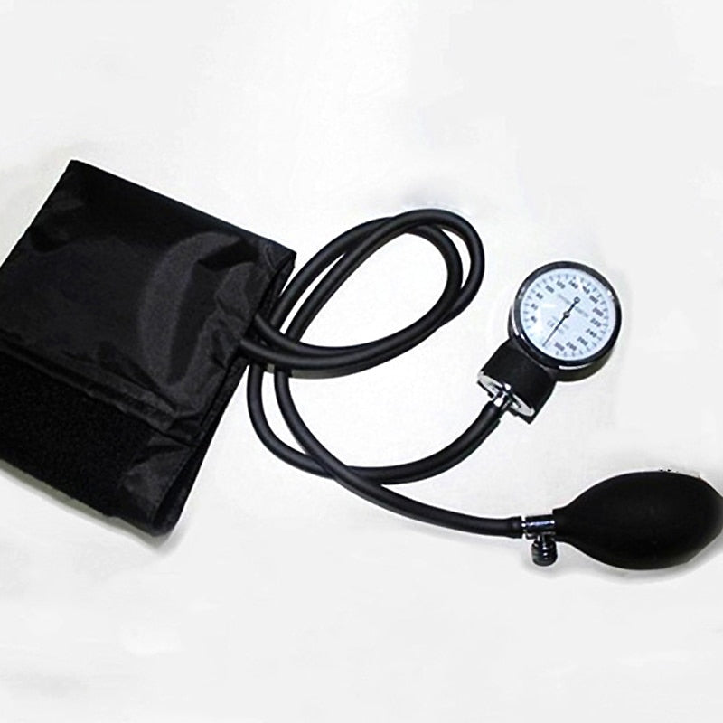 Manual Blood Pressure Monitor Sphygmomanometer Health Home Device Cuff Stethoscope for Doctors