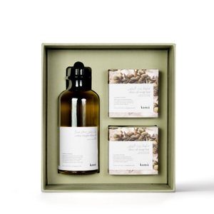 olive oil and soap gift pack
