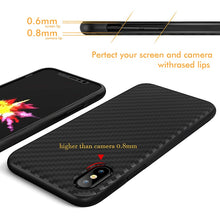 Load image into Gallery viewer, iPhone Case - Carbon Fiber Design
