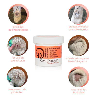 Trouble Spot Drying Paste - Canine and Cat - 5oz