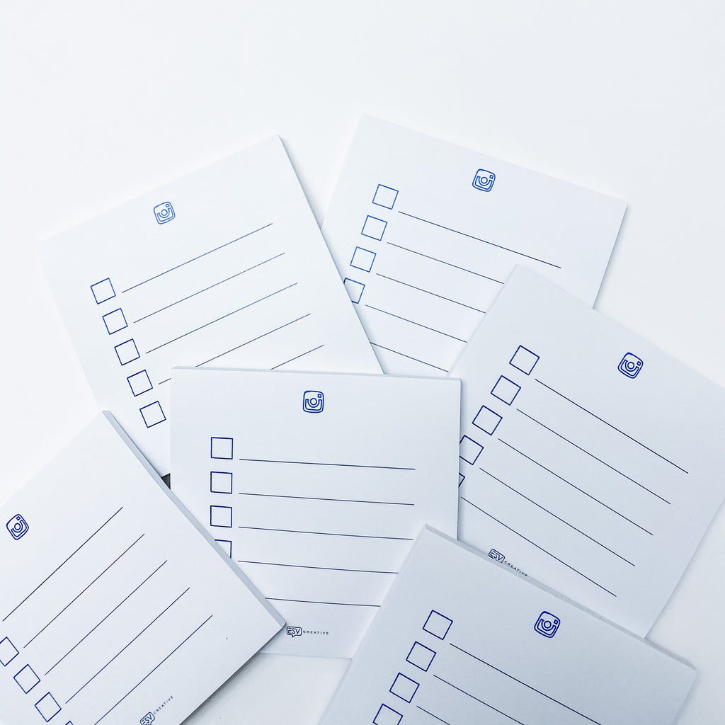 Social Strategy Sticky Notes - ESV Creative
