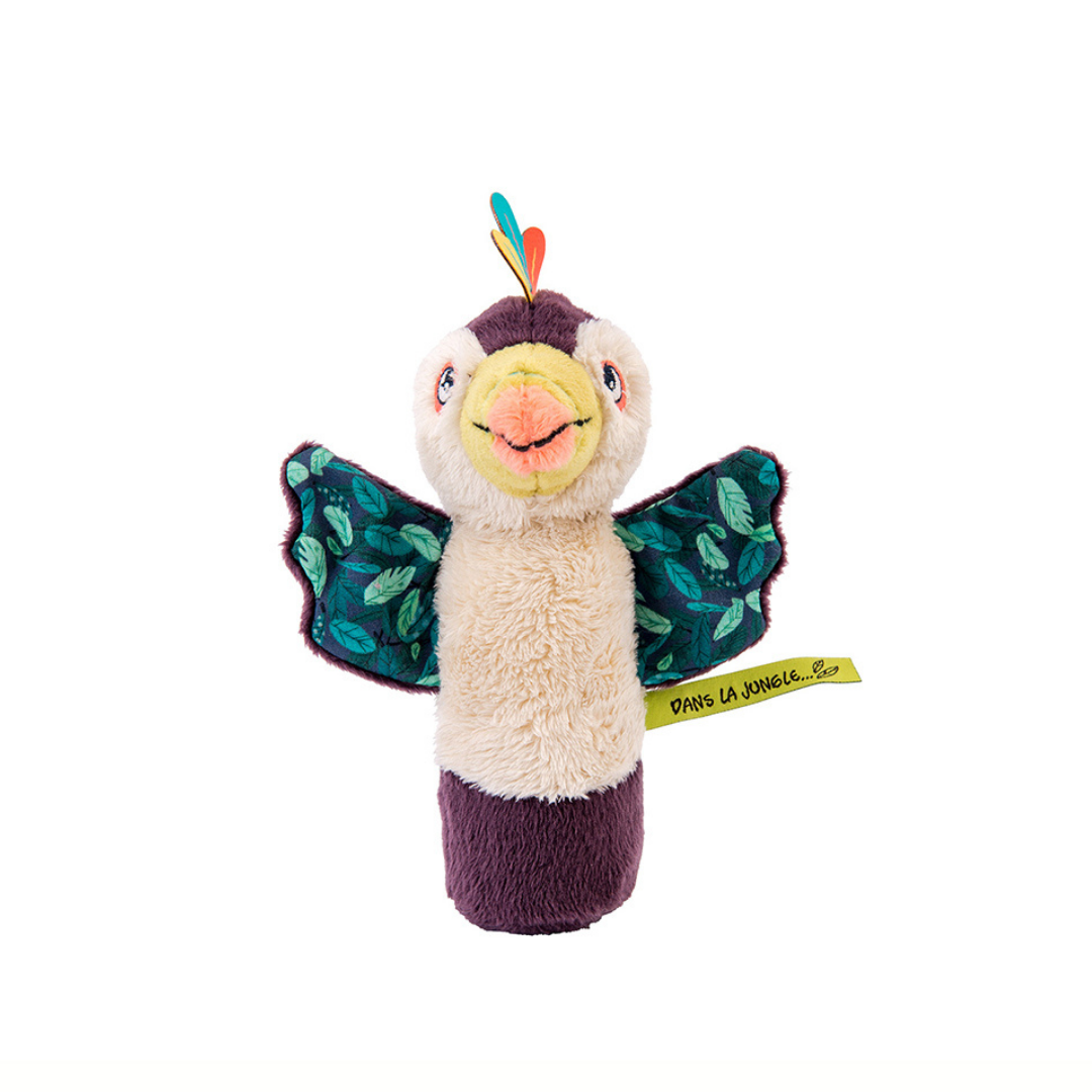 Image of Moulin Roty klemmedyr med lyd - Tukanen Pakou (Room2play-668001)
