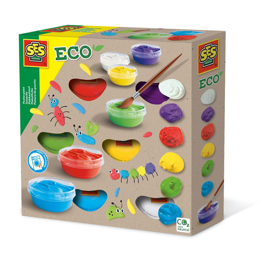Image of SES CREATIVE Eco Plakatfarver (Room2play-S00365)