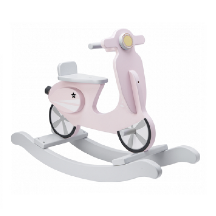 Kids Concept gyngescooter rosa