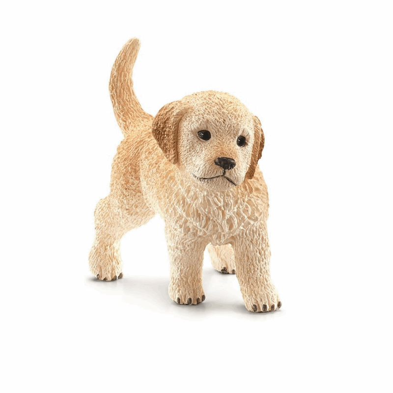 Schleich golden retriever hvalp
