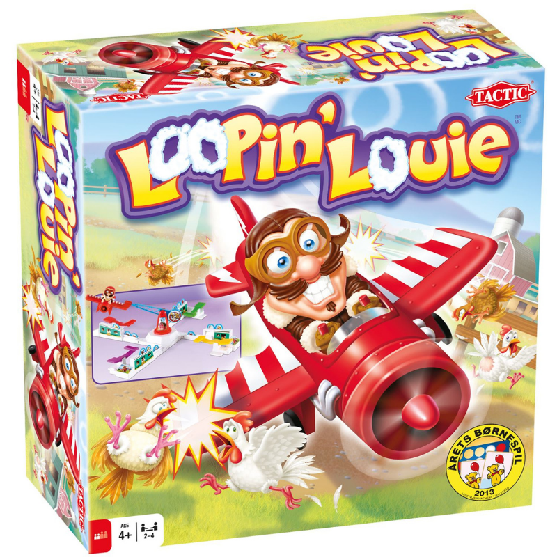 Image of Tactic Loopin Louie spil (Tactic-40957)