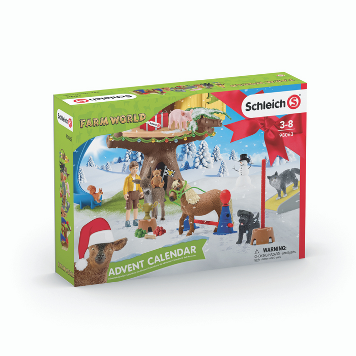 Schleich Farm World julekalender, 2020