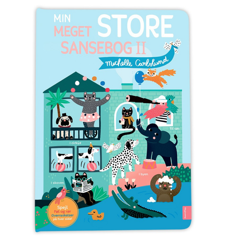 Image of Michelle Carlslund Min meget store sansebog II (Room2play-R2P1000)