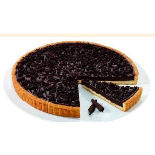 Chocolate Tart Pre-Cut 1kg (Frozen) - Good Food