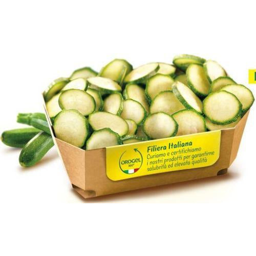 Courgette Rounds 2.5 kg (Frozen) - Good Food