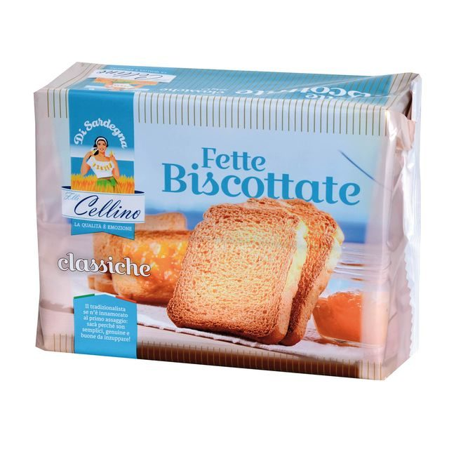 Rusck-Fette Biscottate Classic Cellino 324g - Good Food