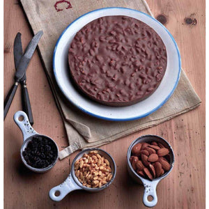 """Golosa"" cake: gianduia with puffed rice, praline almonds, Corinth raisins 250g GARDINI"