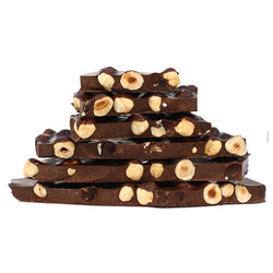 Bars : Dark chocolate with hazelnuts 100g GARDINI Exp. 30.11.20
