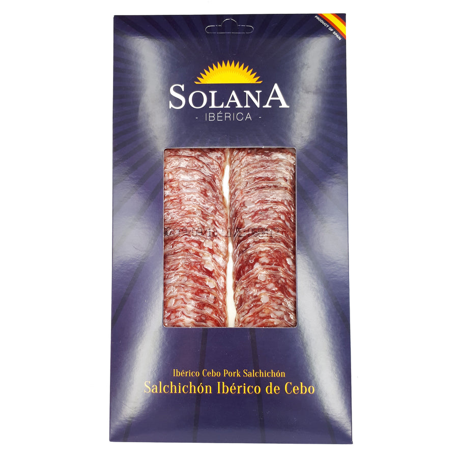 Iberico Cebo Sachicon Sliced 100g - Good Food