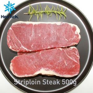 Brazil Beef Striploin Steak +/-500g (Frozen) - Good Food