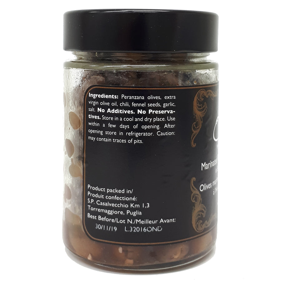Pitted Peranzana Marinated Olives 300g - Good Food