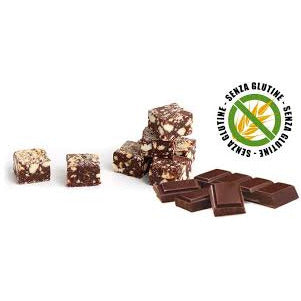 Sweet Salami (in cubes) Chocolate & Hazelnut 90g Gluten Free - Good Food