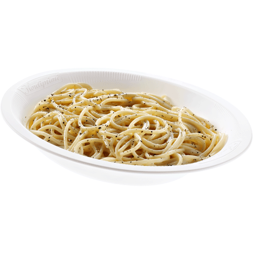 Spaghetti with Pecorino cheese and pepper 350g in Microwave (Frozen) - Good Food