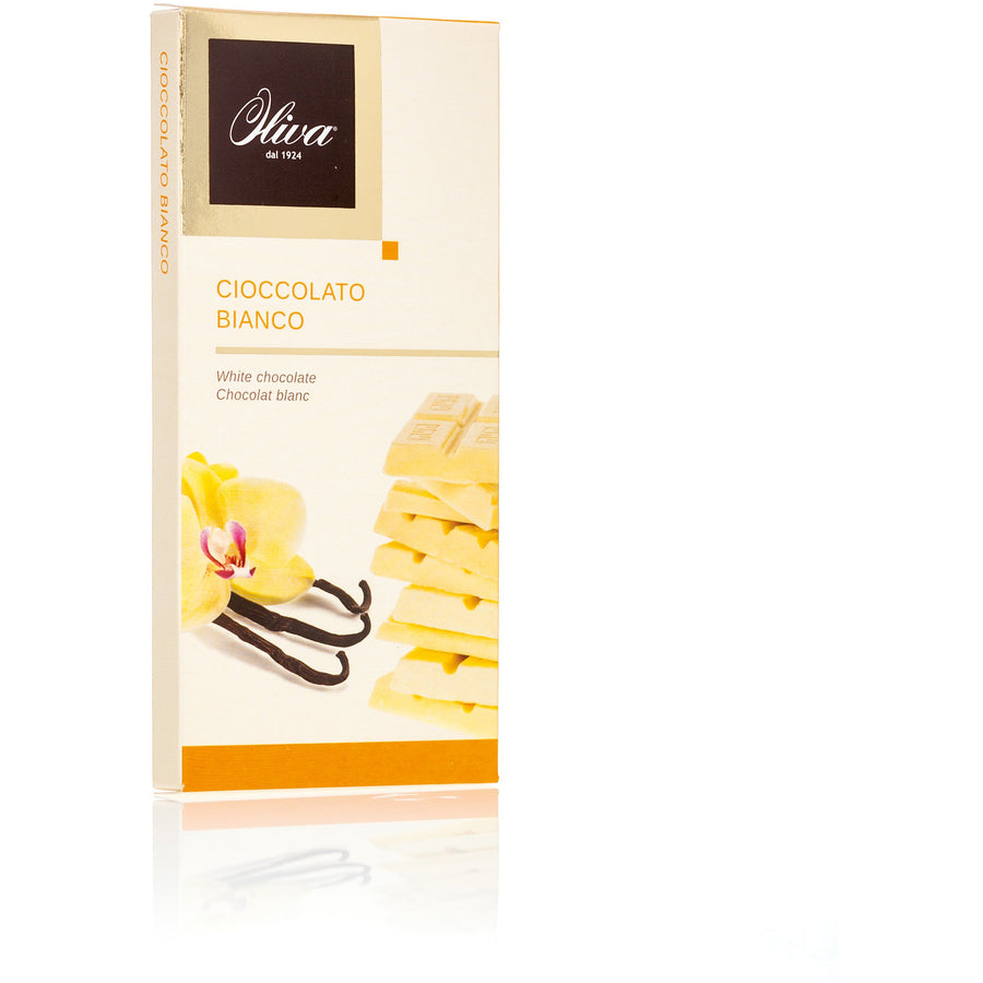 Extra Fine White Chocolate Bar 28% Cocoa 85g - Good Food