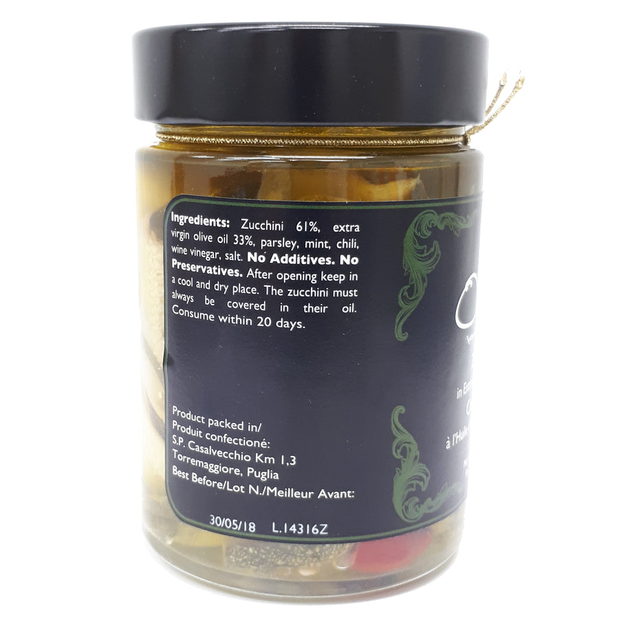 Zucchini Extra Virgin Olive Oil 300g - Good Food