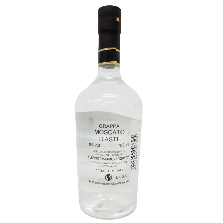Grappa Moscato 40% 70cl Bellav.CASTAGNER - Good Food