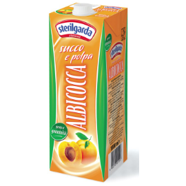 Apricot Nectar Juice 1 Lt STERILGARDA - Good Food