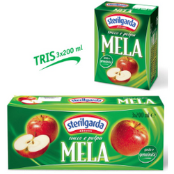 Apple Nectar Juice 200ml x 3 STERILGARDA - Good Food