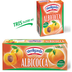 Apricot Nectar Juice 200ml x 3 STERILGARDA - Good Food