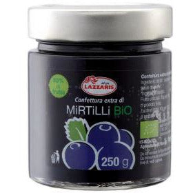 Organic Blueberry Extra Jam 250g - Good Food