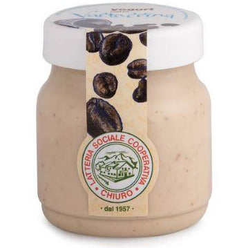 Whole Yogurt with Coffee 150g CHIURO From Italy (Super Fresh) - Good Food