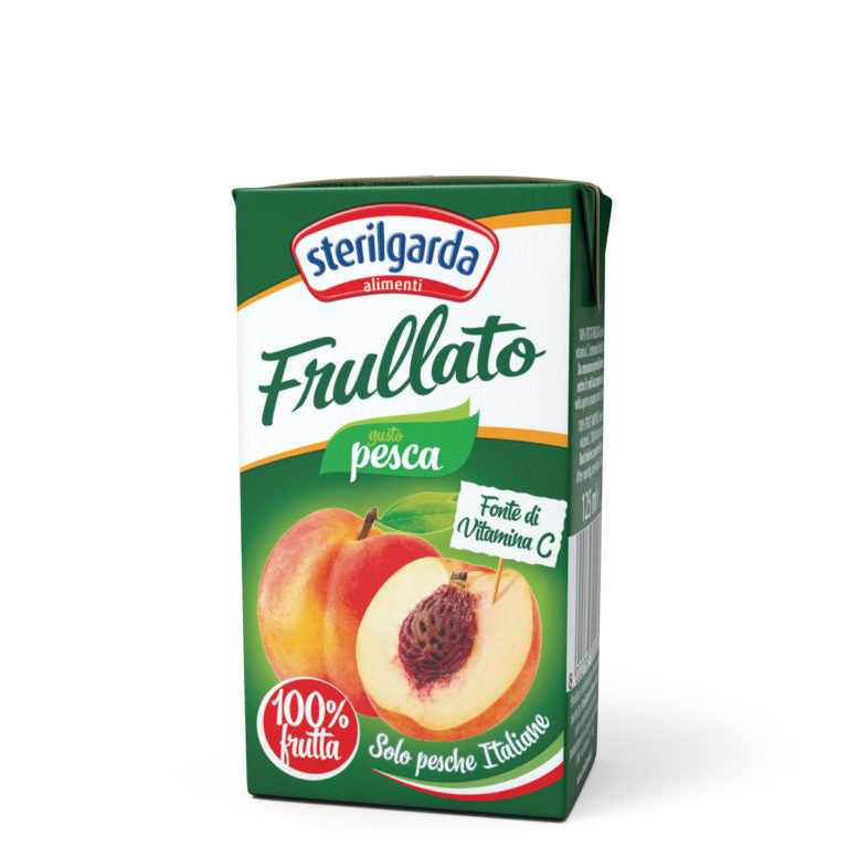 Smoothies Peach Juice 125ml x 3 STERILGARDA - Good Food